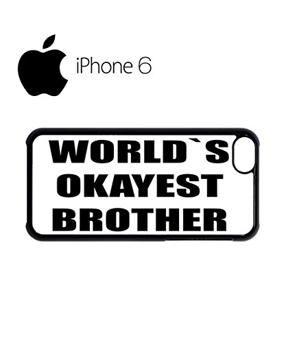 World`s Okayest Brother Mobile Cell Phone Case Cover iPhone 5c Black Schwarz