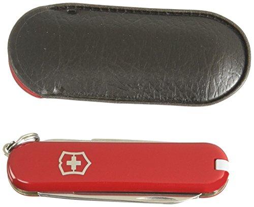 Victorinox Taschenmesser Classic SD (7 Funktionen, Schere, Nagelfeile mit Schraubendreher) rot