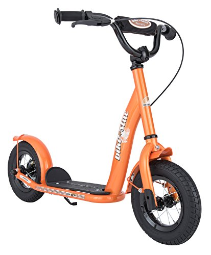 Bikestar 25 4cm 10 Pouces Trottinette Patinette Enfants Couleur Orange
