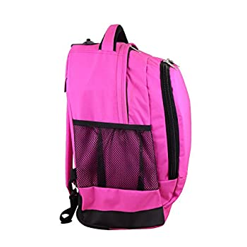 Nba Milwaukee Bucks Expedition Wheeled Backpack, 19-inches, Pink 3