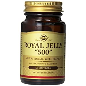 "Solgar, Royal Jelly ""500"", 60 Softgels"
