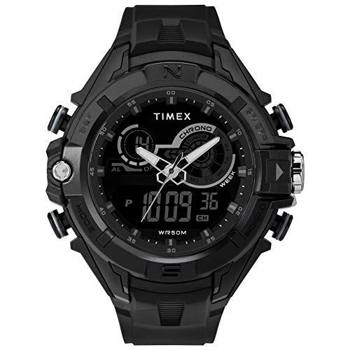 Timex Herren Digital Uhr mit Harz Armband TW5M23300 (Timex Herren-digitaluhr)