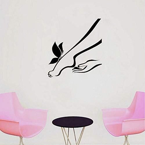Massage Fußnägel Studio Pediküre Maniküre Sticker Dress Up Your Beauty 57 * 61Cm