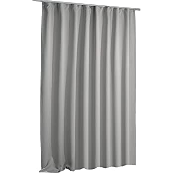 verdunkelungsvorhang blackout vorhang extra breit kr uselband blickdicht ca 270x245 cm gardine. Black Bedroom Furniture Sets. Home Design Ideas
