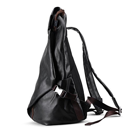 Meoaeo Korean Casual Bag Laptop Tasche Herren Schultertasche black