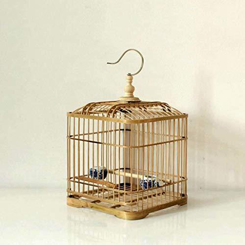 XWYGW Haustierbett Vogel Trägerkäfig Klassisch Upgrade-Durable Indoor-Vogelkäfig Papageienkäfig Außenvogelzuchtkäfig, Geeignet for Parrot/Vogel -