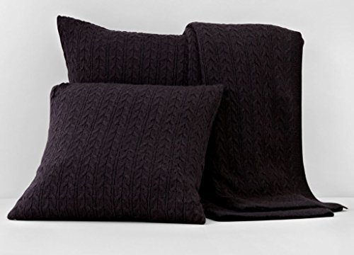 bloomingdales-1872-cable-knit-euro-sham-black-by-bloomingdales