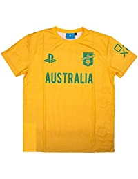 Sony Playstation FC - Australia - Hombre Oficial Camiseta de Fútbol