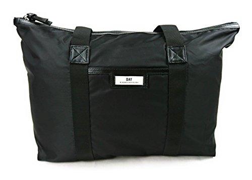 DAY et Damen Shopper GWENETH Work Bag in Schwarz aus strapazierfähigem wasserabweisendem Nylon - 3174475906s (Mode-reise-gepäck-kollektion)