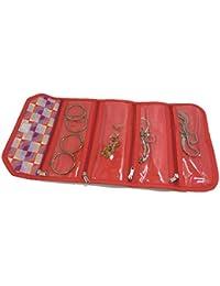 21R Multipurpose Travel Organiser Bag/Utility Bag/Cosmetic Bag/Makeup Bag/Jewelery Bag/Jewelery Case/Hanging Toiletries... - B07DD2CD2N
