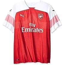 95ae911c3d3e3 Puma Arsenal FC Home Shirt Replica SS with EPL Sponsor Logo Jersey