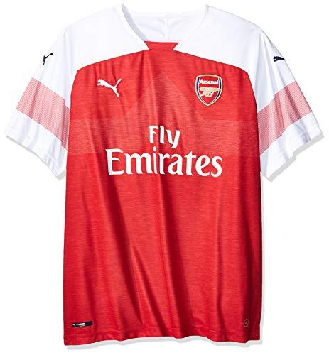 381d3efa3 Puma Arsenal FC Home Shirt Replica SS with EPL Sponsor Logo Jersey