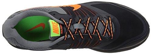 Nike Dual Fusion X, chaussures de sport homme Negro / Gris / Naranja