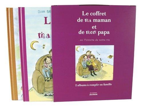 Le coffret de ma maman et de mon papa ou l'histoire de notre vie : L'album de ma maman, L'album de mon papa : Coffret de 2 volumes