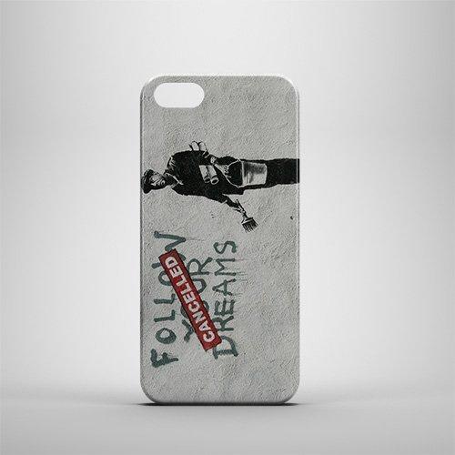 Banksy Follow Your Dreams iPhone 5/5S