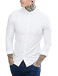 NxtSkin Men's Cotton Full Sleeve Casual Shirt