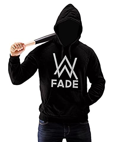 Official Techno Club - Alan Walker Inspired FadeHomme Pullover Hoodie