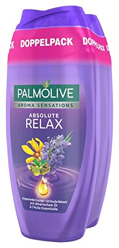 Palm olivo Aroma Sensations Absolute Relax Gel de Ducha Doble pack, 6pack (6x 250ml)