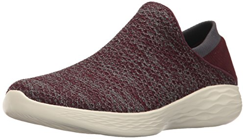 Skechers You, Sneakers Basses Femme Rouge amarante