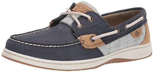 Sperry Women's, Bluefish 2 Eye Boat Shoes Navy Multi 7.5 M (Sperry Bluefish Schuhe)