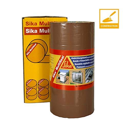 Sika 3737 MultiSeal Abdichtungsband, selbstklebend, Kaltkleber, 300mmx10m, Farbe: Terrakotta