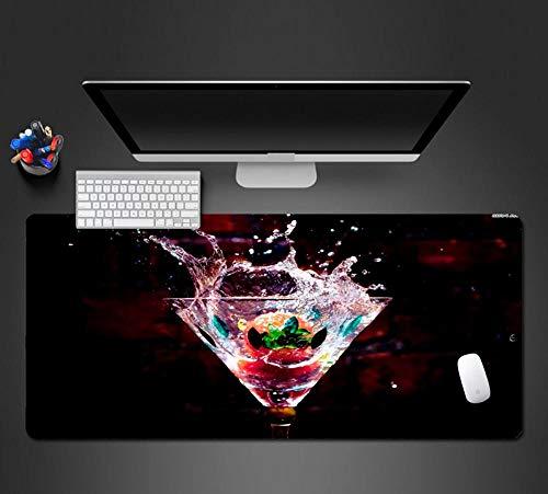 Bild Von Fruchtwein Mauspad Waschbar PC Spiel Mauspad Computer Tastatur Pad Gaming Mousepad Für Gamer 40 * 90 cm