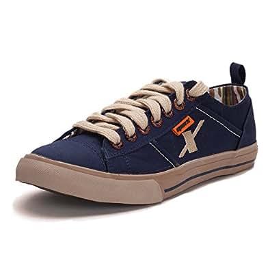 Sparx Mens Canvas Sports Shoes ( SM-130-BLUE-10 )