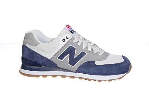 New Balance Herren Ml574 Sneakers GOP MARINE BLUE