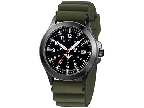 KHS Mens Watch Black Platoon Titan Chronograph KHS.BPTC.DO