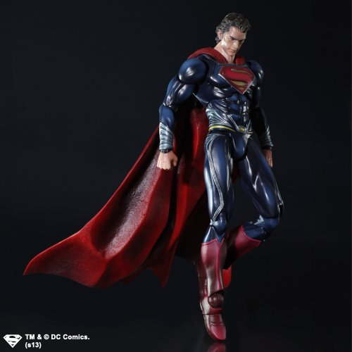 Image of DC Man Of Steel Play Arts Kai Action Figure Superman