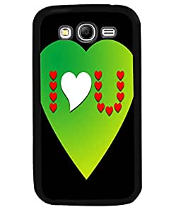 Fuson 2D Printed Love Designer back case cover for Samsung Galaxy Grand 2 - D4531