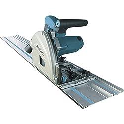 Makita Scie Plongeante 1300W - SP6000J1 Systainer + rail de guidage