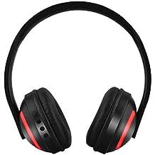 SamMoSon 2019 Auriculares Diadema, Cascos Bluetooth Inalambricos,Auriculares Bluetooth Iluminados De Siete Colores para