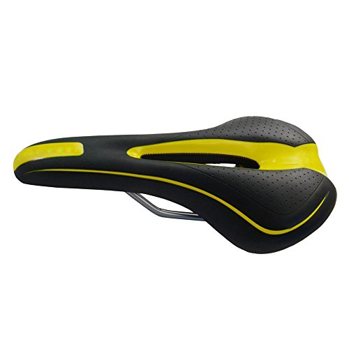 Lmeno® Sella Sellino Morbido Sella Cuscino Pad ultra leggera Extra Comfort Seat Saddle per Mountain (Pelle Brooks Sella Della Bici)