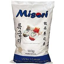 misori calrose Arroz/Sushi Arroz; Premium Calidad, 1er Pack (1x 10kg Paquete)