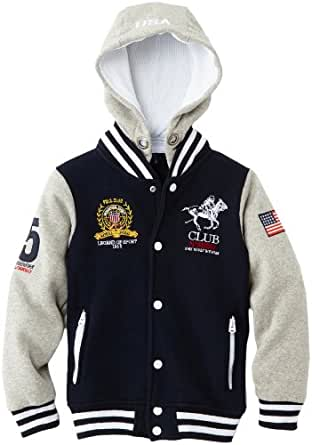 Geographical norway - allgood - sweat-shirt à capuche - garçon - multicolore (navy/blended grey) - 14