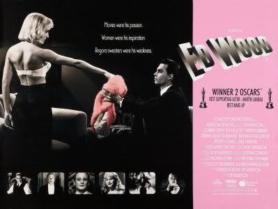 ED WOOD - JOHNNY DEPP – Imported Movie Wall Poster Print –...