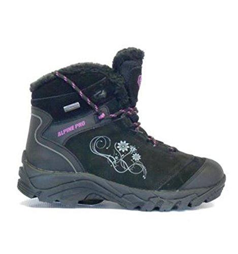 Alpine - Femmes - Chaussures de montagne hiver Pro Arrow Noir