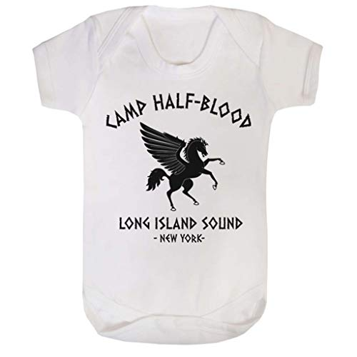 Cloud City 7 Percy Jackson Camp Half Blood Baby Grow Short Sleeve