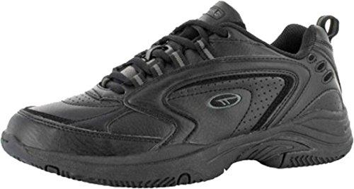 Hi-Tec Blast entraînement sportif Chaussures Lacets Gym Trainer Chaussures Noir ou blanc noir