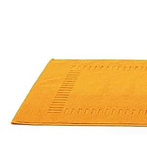 Tapis de bain 50x70 cm PURE Jaune Or 700 g/m2