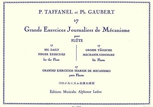 17 Grands Exercices Journaliers de Mecanisme. Flöte