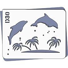 Amazon.fr : pochoir dauphin