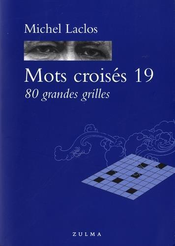 MOTS CROISES 19 80 GRANDES GRILLES par LACLOS MICHEL
