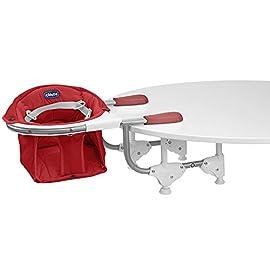 Chicco Seggiolino Tavolo 360°, Scarlet, Rosso