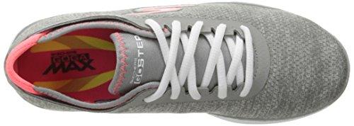 Skechers Go Step Lite-Interstelllar, Sneaker Donna Grigio