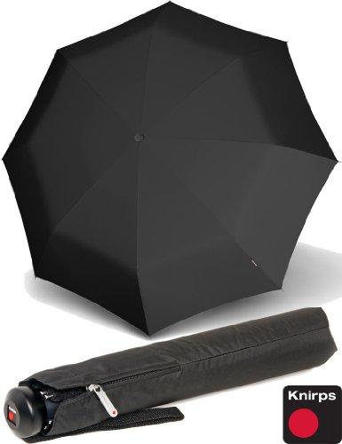 knirps-mens-collapsible-umbrella-topmatic-sl-knob-handle-black