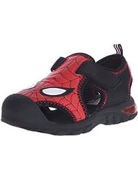 Disney 1SPS610 Spider-Man Closed Toe Sandal (Toddler)