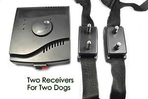 Esky ®Clôture invisible anti fugue collier électrique pour chien étanche