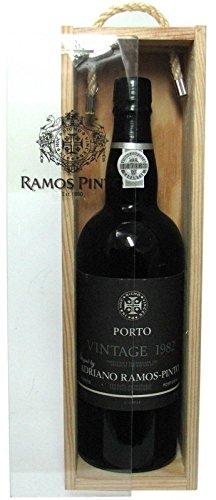 Porto Vintage Jahrgang 1982 Ramos Pinto 0,75l incl. Holzkiste - Ramos Pinto Portwein aus Portugal